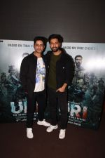Vicky Kaushal With Mohit Raina Spotted For Trailer Preview Of Film URI on 3rd Dec 2018 (11)_5c0775818d2d6.JPG