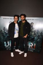 Vicky Kaushal With Mohit Raina Spotted For Trailer Preview Of Film URI on 3rd Dec 2018 (13)_5c07755e34bfe.JPG