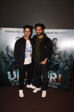 Vicky Kaushal With Mohit Raina Spotted For Trailer Preview Of Film URI on 3rd Dec 2018 (16)_5c0775868471e.JPG