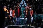 Badshah, Matt Hardy at Indian Idol Session 10 for Shoot Special Episode on 5th Dec 2018