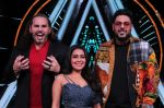 Badshah, Matt Hardy, Neha Kakkar at Indian Idol Session 10 for Shoot Special Episode on 5th Dec 2018 (66)_5c08caa09bcaf.JPG