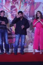 Elli Avram, Arshad Warsi at the Song Launch of  Chamma Chamma For Film Fraud Saiyyan on 15th Dec 2018 (32)_5c175d7e5245c.JPG