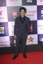 Ishaan Khattar at Red Carpet of Star Screen Awards 2018 on 16th Dec 2018
