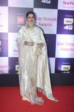 Rekha at Red Carpet of Star Screen Awards 2018 on 16th Dec 2018 (101)_5c1894262c77d.JPG