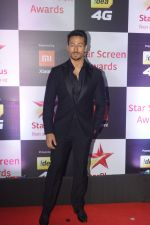 Tiger Shroff at Red Carpet of Star Screen Awards 2018 on 16th Dec 2018