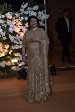 Madhu Chopra at Priyanka Chopra and Nick Jonas at Wedding reception in Mumbai on 19th Dec 2018