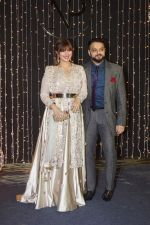 Ayesha Takia at Priyanka Chopra & Nick Jonas wedding reception in Taj Lands End bandra on 20th Dec 2018