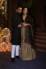 Deepika Padukone, Ranveer Singh at Priyanka Chopra & Nick Jonas wedding reception in Taj Lands End bandra on 20th Dec 2018