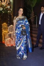 Hema Malini at Priyanka Chopra & Nick Jonas wedding reception in Taj Lands End bandra on 20th Dec 2018
