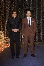 Jeetendra, Tusshar at Priyanka Chopra & Nick Jonas wedding reception in Taj Lands End bandra on 20th Dec 2018