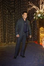 Salman Khan at Priyanka Chopra & Nick Jonas wedding reception in Taj Lands End bandra on 20th Dec 2018