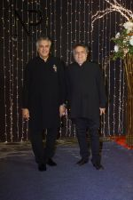 Sandeep Khosla and Abu Jani at Priyanka Chopra & Nick Jonas wedding reception in Taj Lands End bandra on 20th Dec 2018
