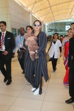 Sania Mirza With Her Newborn Baby Arrives At The Mumbai Airport on 19th Dec 2018 (4)_5c1c8ac73610c.JPG