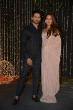 Shahid Kapoor, Mira Rajput at Priyanka Chopra & Nick Jonas wedding reception in Taj Lands End bandra on 20th Dec 2018