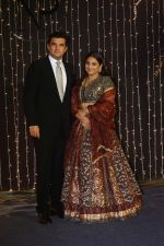 Vidya Balan, Siddharth Roy Kapoor at Priyanka Chopra & Nick Jonas wedding reception in Taj Lands End bandra on 20th Dec 2018
