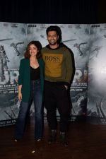 Yami Guatam, Vicky Kaushal during the media interactions for thier film Uri in jw marriott juhu on 22nd Dec 2018 (4)_5c29b5f7dd0f5.jpg