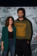 Yami Guatam, Vicky Kaushal during the media interactions for thier film Uri in jw marriott juhu on 22nd Dec 2018 (6)_5c29b5fab3f00.jpg