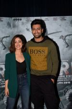 Yami Guatam, Vicky Kaushal during the media interactions for thier film Uri in jw marriott juhu on 22nd Dec 2018 (8)_5c29b5e2da526.jpg