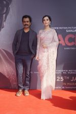 Amrita Rao, Nawazuddin Siddiqui at the Trailer Launch of film Thackeray on 26th Dec 2018 (16)_5c2c61b7aec57.JPG