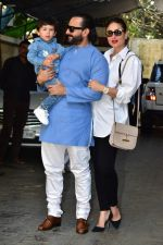 Kareena Kapoor, Saif Ali Khan, Taimur Ali Khan attends the christmas brunch at Shashi Kapoor_s house in juhu on 25th Dec 2018 (32)_5c2c56221a739.JPG