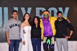 Ranveer Singh, Alia Bhatt, Ritesh Sidhwani, Zoya Akhtar, Farhan AKhtar at the trailer launch of film Gully Boy on 8th Jan 2019 (8)_5c36ec135e48e.JPG