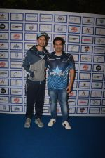 Dino Morea, Arbaaz Khan during The Inaugural Match Of Super Star League At Bandra on 7th Jan 2019