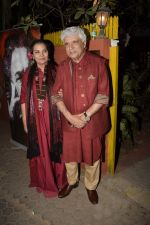 Shabana Azmi, Javed Akhtar at Kaifi Azmi_s centenary celebrations with a musical evening at his juhu residence on 10th Jan 2019 (63)_5c38469816d75.JPG