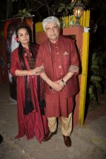 Shabana Azmi, Javed Akhtar at Kaifi Azmi_s centenary celebrations with a musical evening at his juhu residence on 10th Jan 2019 (65)_5c384699a20d9.JPG