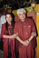 Shabana Azmi, Javed Akhtar at Kaifi Azmi_s centenary celebrations with a musical evening at his juhu residence on 10th Jan 2019 (68)_5c3846bdbfac0.JPG