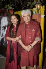 Shabana Azmi, Javed Akhtar at Kaifi Azmi_s centenary celebrations with a musical evening at his juhu residence on 10th Jan 2019 (70)_5c3846bf6499b.JPG