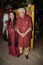 Shabana Azmi, Javed Akhtar at Kaifi Azmi_s centenary celebrations with a musical evening at his juhu residence on 10th Jan 2019 (71)_5c3846c121f5a.JPG