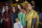 Shabana Azmi, Tanvi Azmi, Poonam Dhillon, Tanuja Chandra at Kaifi Azmi_s centenary celebrations with a musical evening at his juhu residence on 10th Jan 2019 (41)_5c384701a37af.JPG