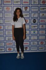 Shibani Dandekar during The Inaugural Match Of Super Star League At Bandra on 7th Jan 2019
