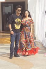 Sushant singh rajput and Bhumi Pednekar at the promotion of film Sonchiriya on 7th Jan 2019