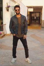 Vicky Kaushal Spotted for Media Interview of film URI on 7th Jan 2019