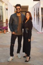 Vicky Kaushal, Yami Gautam Spotted for Media Interview of film URI on 7th Jan 2019