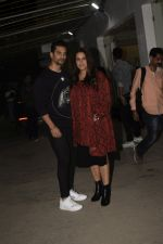 Angad Bedi, Neha Dhupia at the Screening of film Uri in sunny sound juhu on 12th Jan 2019 (106)_5c3ae57086fe9.JPG