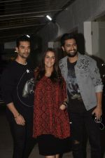 Angad Bedi, Neha Dhupia, Vicky Kaushal at the Screening of film Uri in sunny sound juhu on 12th Jan 2019 (104)_5c3ae545405ae.JPG