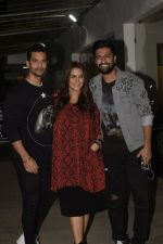 Angad Bedi, Neha Dhupia, Vicky Kaushal at the Screening of film Uri in sunny sound juhu on 12th Jan 2019 (107)_5c3ae546cbecb.JPG