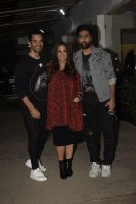 Angad Bedi, Neha Dhupia, Vicky Kaushal at the Screening of film Uri in sunny sound juhu on 12th Jan 2019 (109)_5c3ae58a716cd.JPG