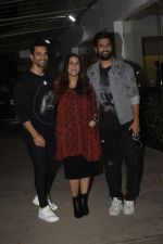 Angad Bedi, Neha Dhupia, Vicky Kaushal at the Screening of film Uri in sunny sound juhu on 12th Jan 2019 (85)_5c3ae57de21a7.JPG