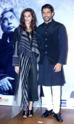 Farhan Akhtar, Shibani Dandekar at Mizwaan Raag Shayari Event For The The Centenary Celebrations Of Kaifi Azmi in St Andrews, Bandra on 15th Jan 2019