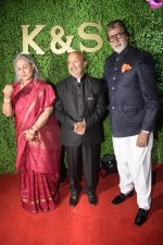 Amitabh Bachchan, Jaya Bachchan at Sameer Ajaan_s daughter_s wedding reception at Sun n Sand in juhu on 22nd Jan 2019 (1)_5c48168ec0910.JPG