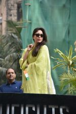 Kareena Kapoor during the flag hoisting ceremony at thier society in bandra on 26th Jan 2019