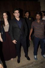 Arbaaz Khan, Georgia Andriani at Bobby Deol_s birthday party at his home in juhu on 27th Jan 2019 (73)_5c5004664adb3.JPG