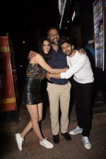 Kriti Sanon, Kartik Aaryan, Laxman Utekar at the Wrapup party of film Luka Chuppi at The Street in bandra on 28th Jan 2019