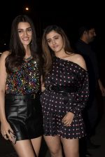 Kriti Sanon, Nupur Sanon at the Wrapup party of film Luka Chuppi at The Street in bandra on 28th Jan 2019