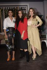 Parineeti Chopra, Sania Mirza & Neha Dhupia on the sets of Vogue BFFs at filmalaya studio in Andheri on 26th Jan 2019