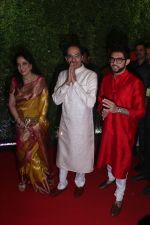 Uddhav Thackeray, Rashmi Thackeray at Raj Thackeray_s son Amit_s wediing in St Regis on 27th Jan 2019 (14)_5c5009f1d6947.jpg