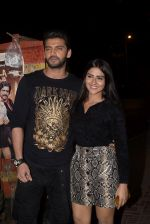 Zaheer Iqbal, Pranutan Bahl at the Wrapup party of film Luka Chuppi at The Street in bandra on 28th Jan 2019